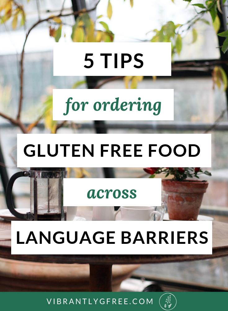 order gluten free food PIN
