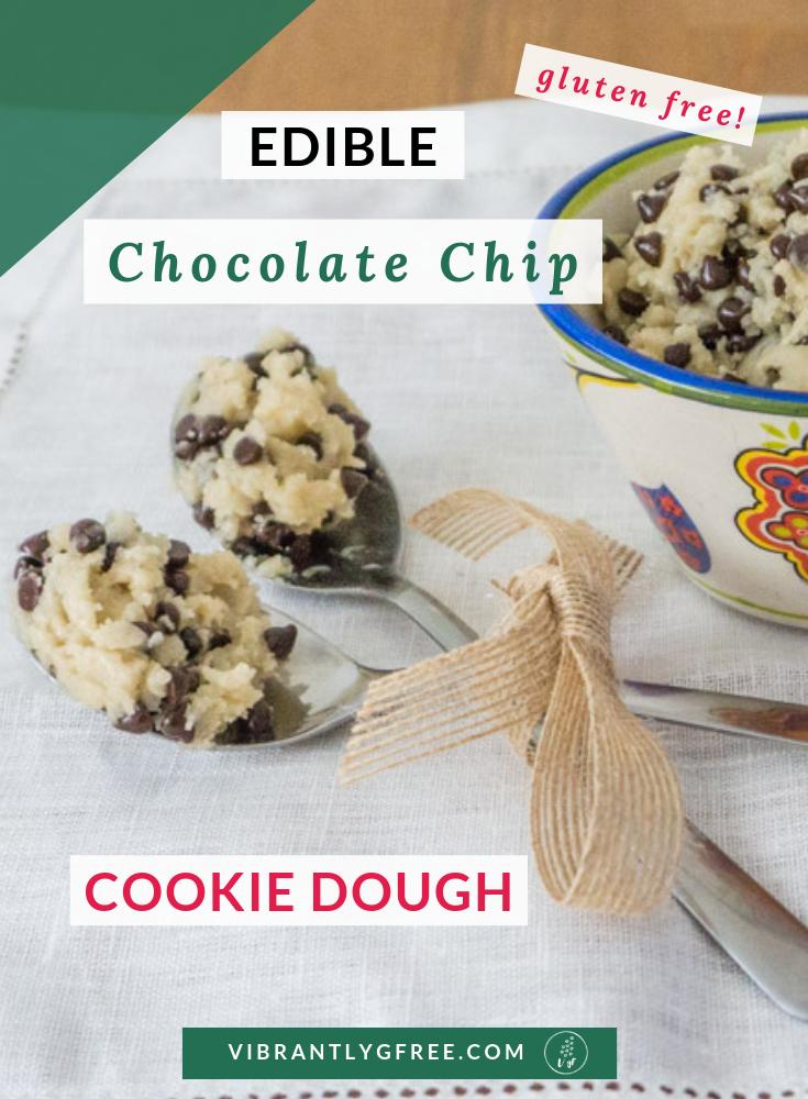 Edible Chocolate Chip Cookie Dough PIN 2