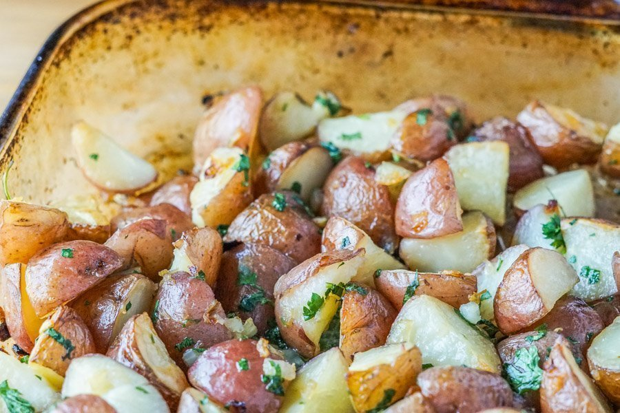 roasted potatoes 2