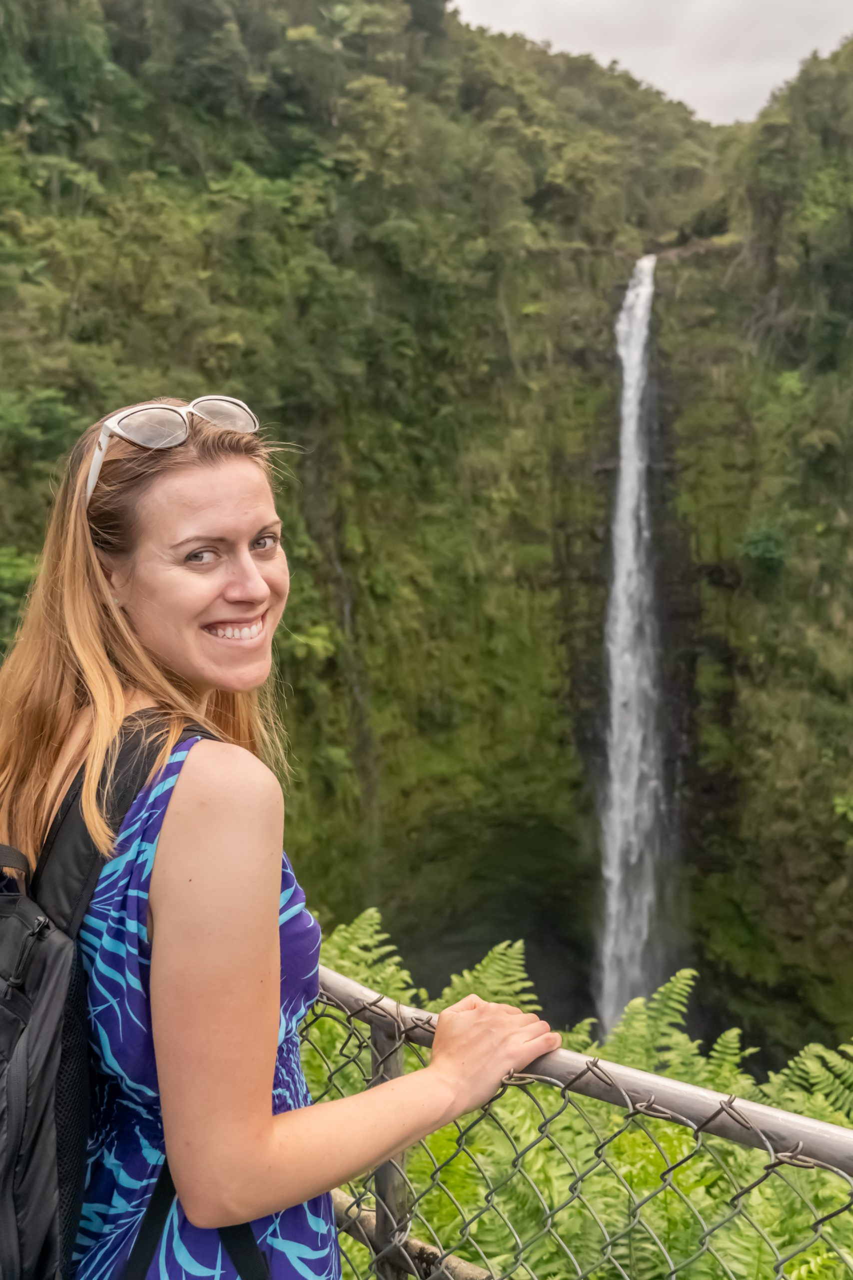 Gluten Free Hawaii waterfall 3 Akaka