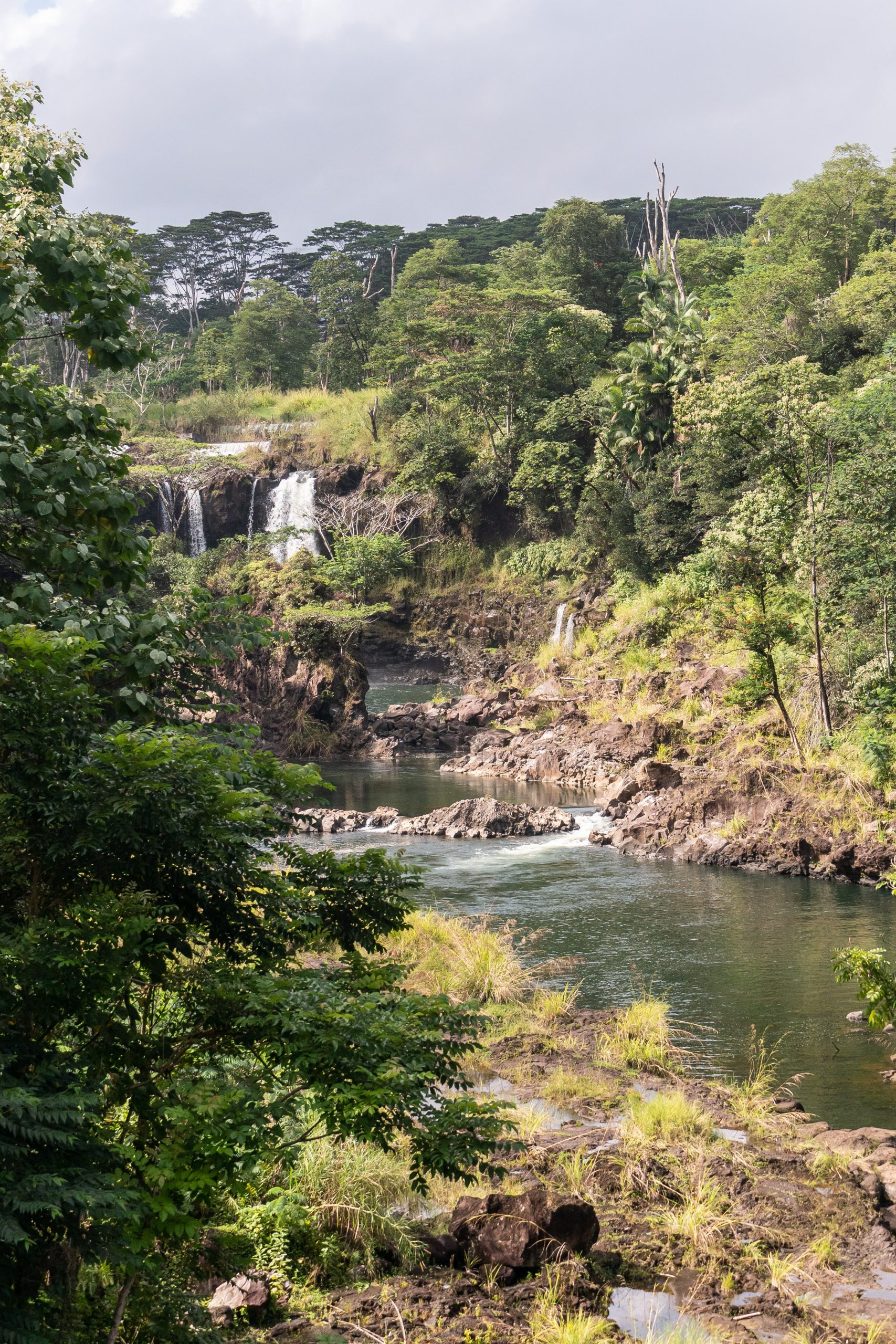 Gluten free hawaii road trip falls 1