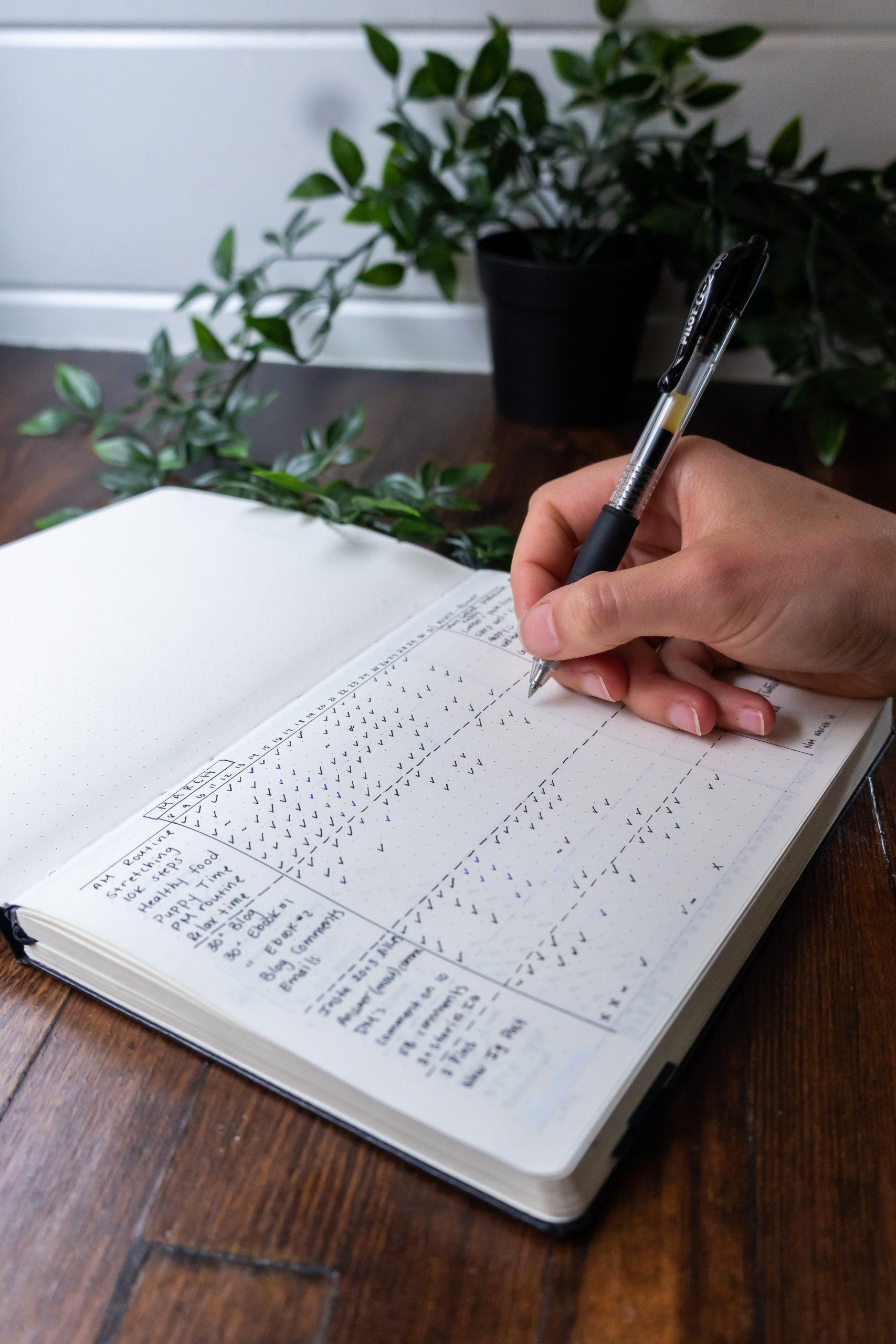 Stress Free Productivity Habit Tracker